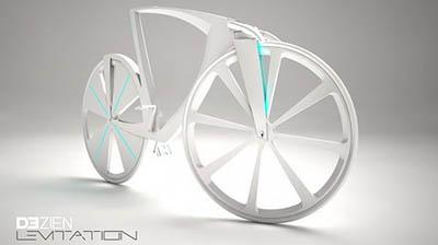 Велосипед Dezien – концептуальный источник энергии для гаджетов и… электромобилей