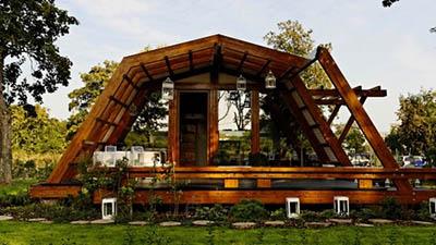 Энергоэффективные эко-дома Soleta zeroEnergy – жилье вдали от электросети от строителей Румынии