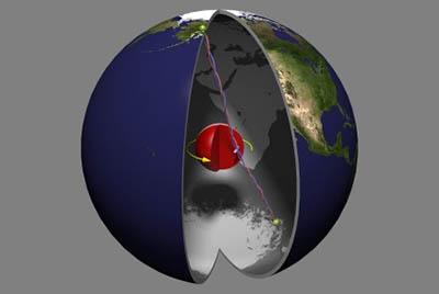 Ядро Земли вращается отдельно от остальной планеты и с переменной скоростью