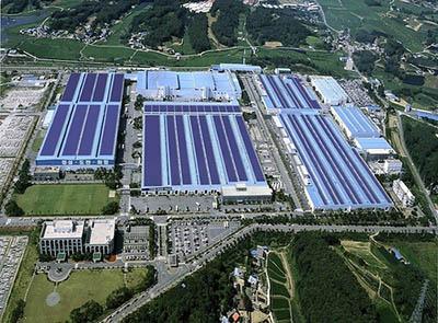 Компания Hyundai создает самый крупный массив солнечных панелей для своего завода в Южной Корее
