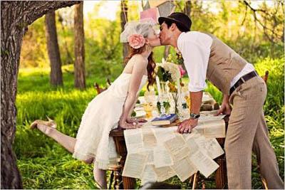 Свадьба в эко-стиле: основные требования экологичности (ч.2/2)