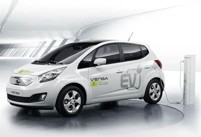 Kia запустит в продажу свой второй электромобиль Venga EV