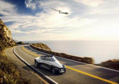 Nissan BladeGlider Concept – спорткар нестандартной формы со смещенным центром тяжести