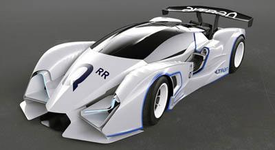 Quimera AEGT Evo2 – электрический гоночный болид с супер-дизайном