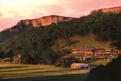 Роскошный эко-курорт Wolgan Valley Resort & Spa в Австралии: зеленый туризм с комфортом (ч.1/3)