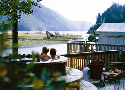 эко-курорт Clayoquot Wilderness Resort
