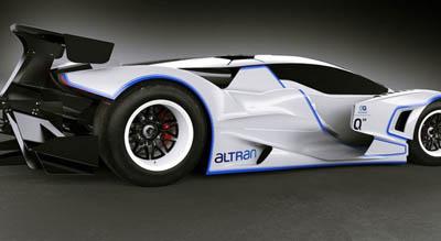 гоночный электроболид Quimera AEGT Evo2