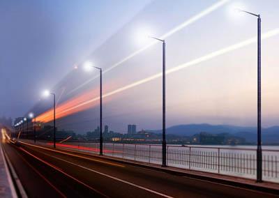 Пленочные солнечные батареи Inovus для уличных фонарей