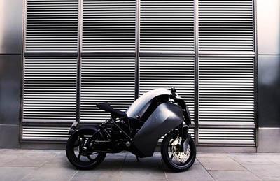 спортивный электромотоцикл Saietta