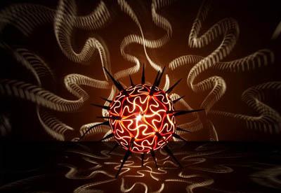 Креативные эко-светильники Calabarte из высушенных тыкв